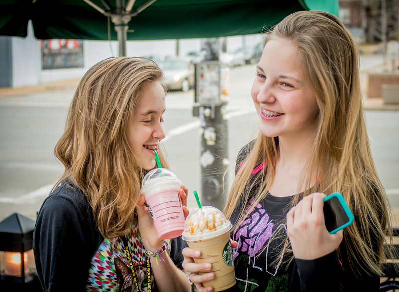 Starbucks with O & R