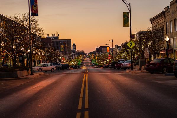 Downtown Lawrence KS