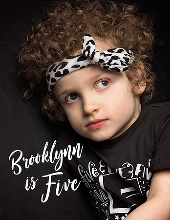 Brooklynne is 5!
