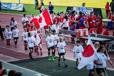Canada vs Japan 7 June 2014