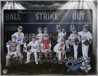 Stars Baseball Team