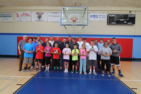 Los Padres Chapter Basketball Free Throw Competition