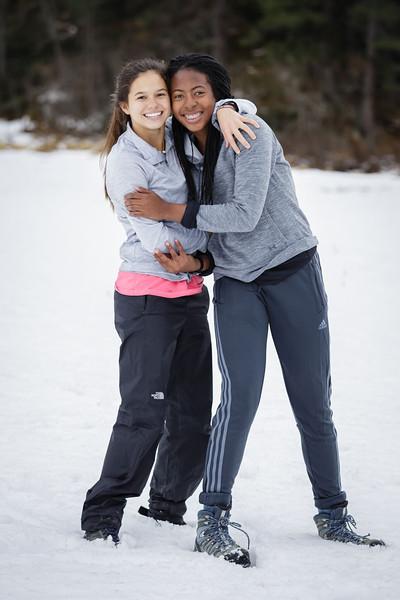 Whitney and Alyssa