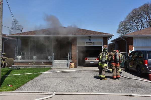 May 6, 2019 - Working Fire - 28 Anson Ave.