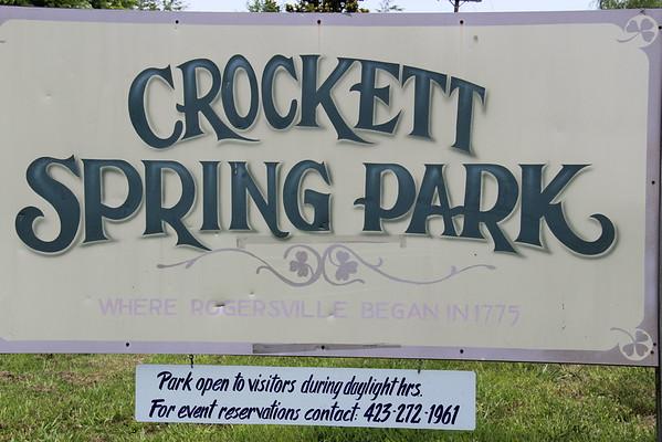 Rogers Cemetery,  Crockett Park