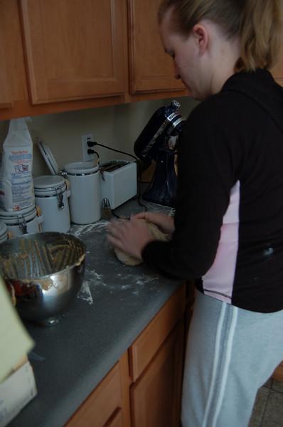 Making Wheat Bread