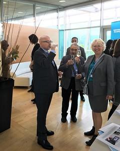 Geneva Internet Platform and Perception Change Project reception, May 2016