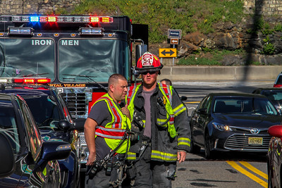 7-12-18 MVA With Injuries, Bear Mountain Bridge,  Photos By Bob Rimm