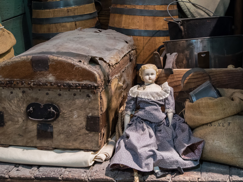Typical Possessions of a Family Traveling Through the Frontier in 19th Century America