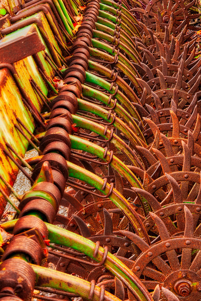 Farm Machine 9, Casa de Fruita, Hollister, California, 2010