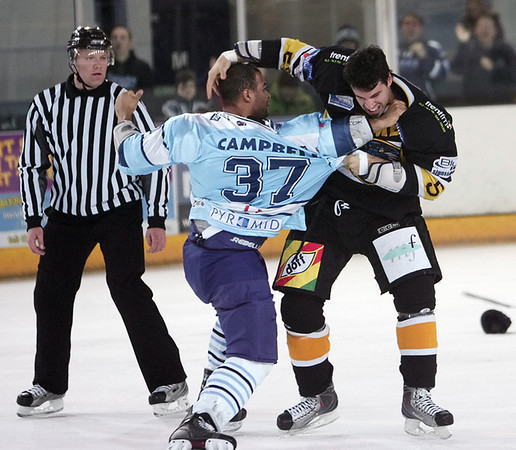Blaze v Nottingham Panthers - 06/12/2009
