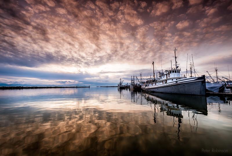 Steveston Marina Sunset