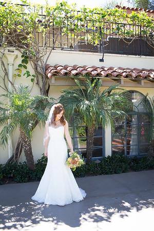 Santa Barbara Historical Museum Wedding with Anna J