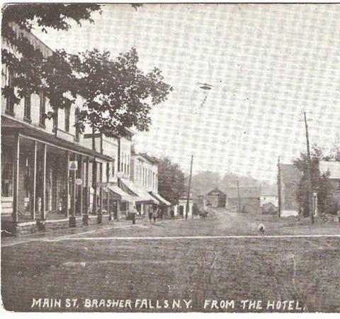 Main St. Brasher Falls  N.Y.