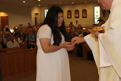 First Eucharist 2014