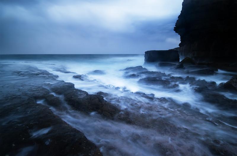 Fossil Bay Seascape