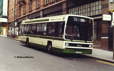 Nottingham (Buses), April / May 1990