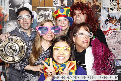 Morgan's Hotel Group Holiday Party