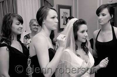 Getting Ready - Bride