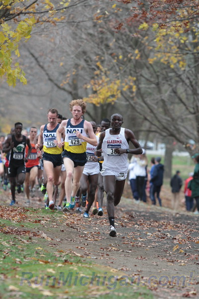 Men's 4K mark - 2017 NCAA D1 XC National Championship