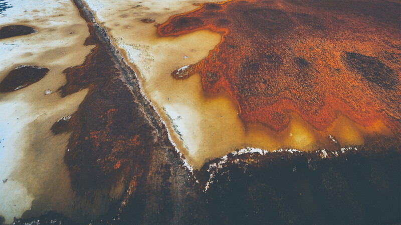Rusty Lava Flow
