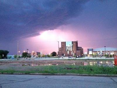 Aug. 18, 2014, storm