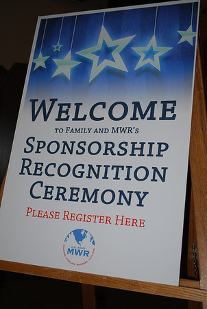 Sponsorship Recognition Feb. 2013