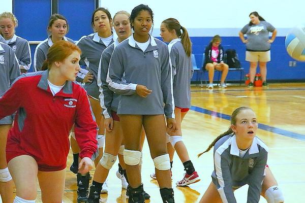 WHS Varsity Volleyball @ Winfield vs Trinity  082617