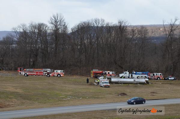 2/2/18 - Harrisburg, PA - Route 322 East Ramp