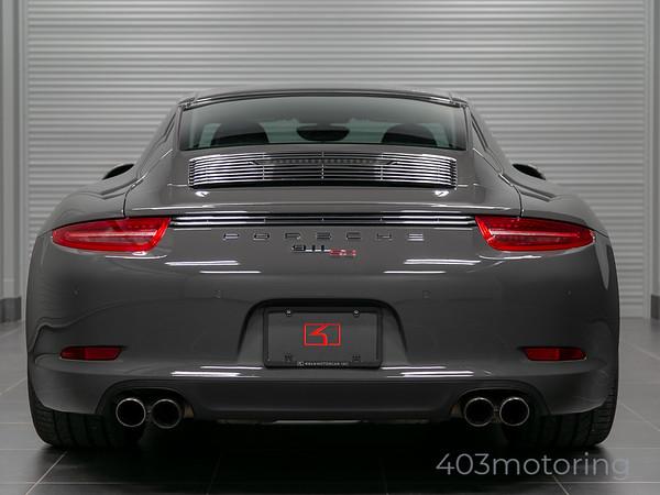 '14 911 50th Anniversary Edition #1814 - Graphite Grey