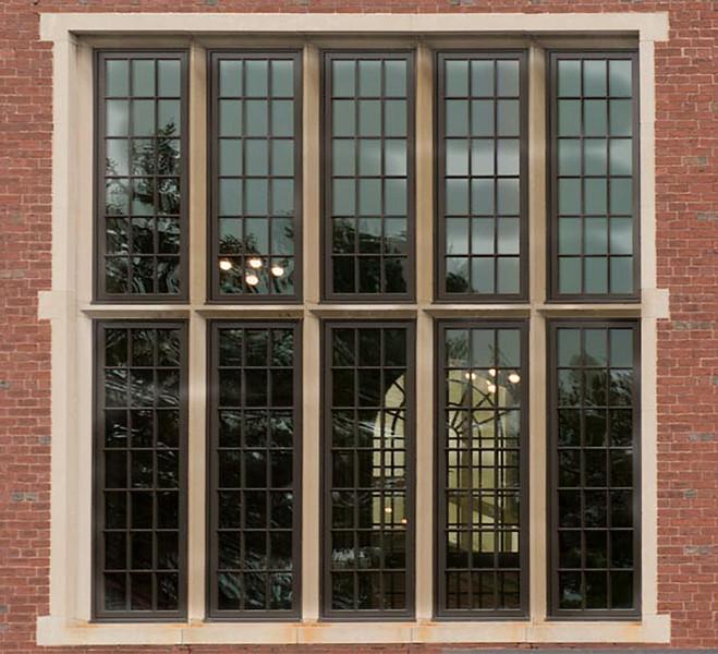 Windows to main dining room
