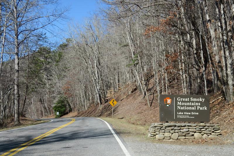 Lake View Drive Entrance