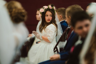 Ella 's First Holy Communion