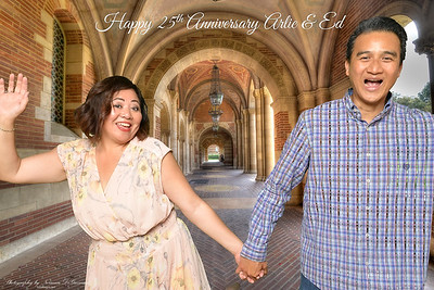 Arlie & Ed 25th Anniversary Photo Booth