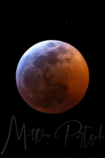 2019 Lunar Eclipse with meteor strike in lower corner by Matthew Partsch.jpg