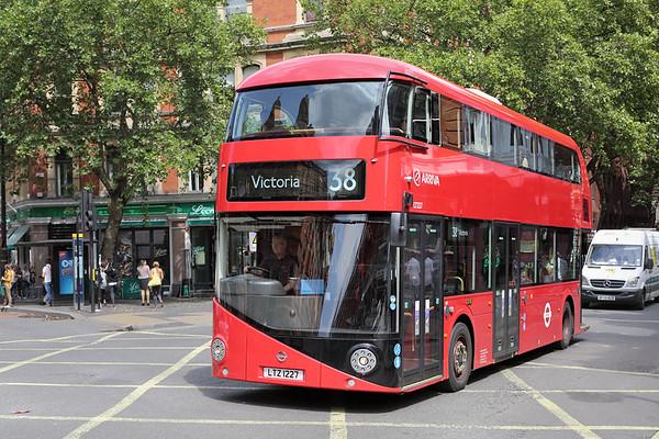6th / 8th August 2014: London