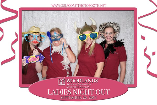 Woodlands Medical Ladies Night Out 2019