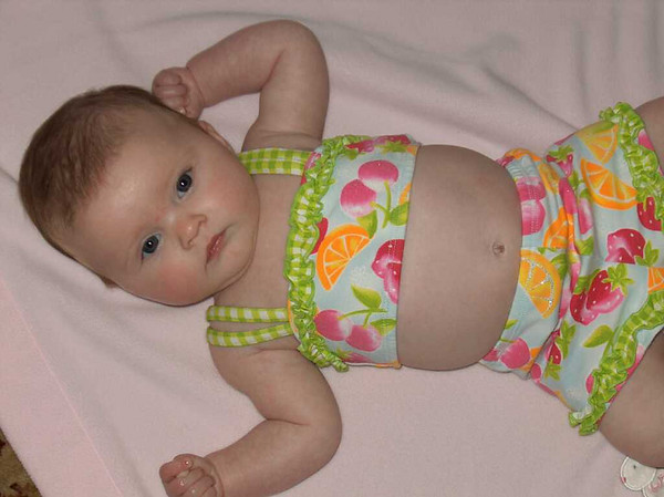 Her first swimsuit