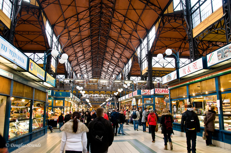 Budapest covered Market....three floors of shopping joy.