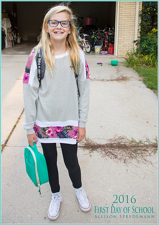 First Day of School - 2016