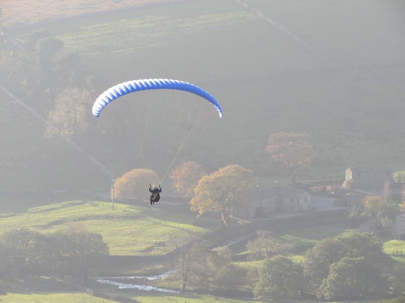 Donald in flight