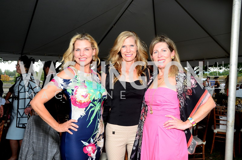 Darrinn Mollett, ??, Sherrie Beckstead,  NVTRP Ride to Thrive Polo Classic, Great Meadow, Sep 28, 2019, photo by Nancy Milburn Kleck