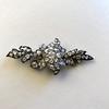 3.10ctw Georgian-era Leafy Pave Diamond Brooch 13