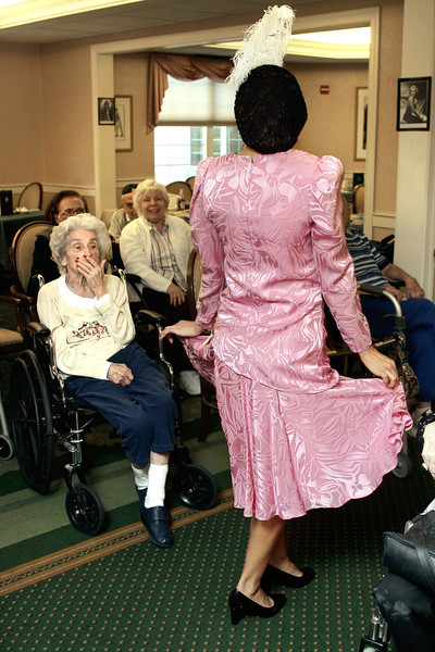 1940s Fashion Show at Brandywine Assisted Living