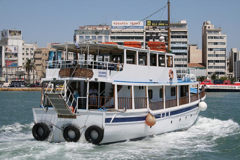 2009 - M/S KOSTANTIS arriving to Piraeus from Salamina.