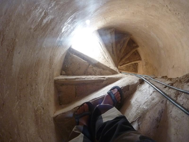 Widok z minaretów, udało nam sie na nie wejść...