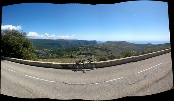 Cycle up Col de Vence 17/8/14