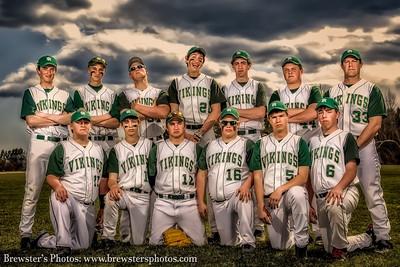 2013 JV Baseball Team Trading Cards