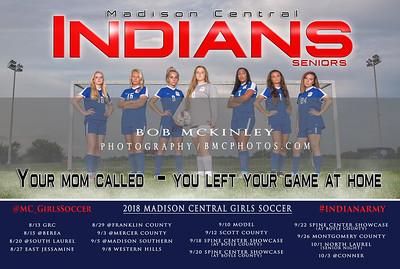 2018 MCHS Girls Soccer