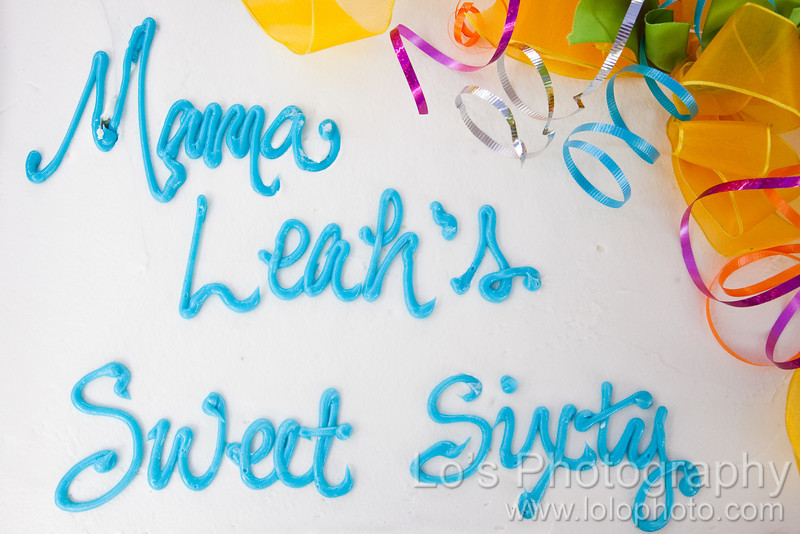 Mama Leah's Sweet Sixty Birthday Party